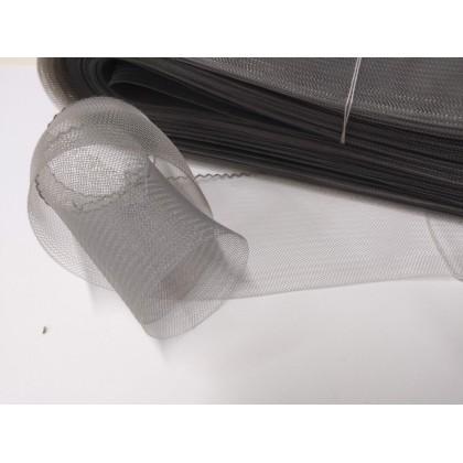 modistická krinolína š. 5 cm/50cm stříbrná šedá