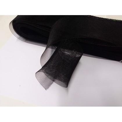 modistická krinolína š. 5 cm/50cm černá