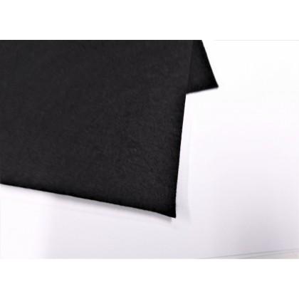 filc černý   dekorativní     30*30 cm