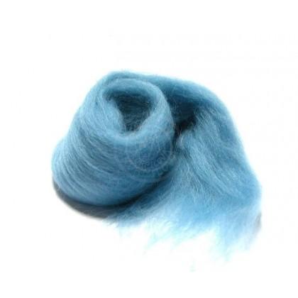 Merino  vlna modrá petrol
