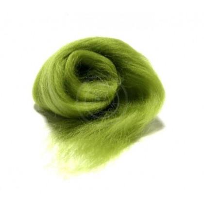 Merino vlna zelená listová