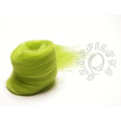 Merino vlna zelená jarní