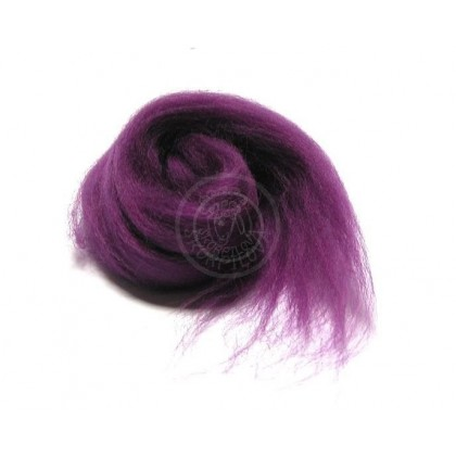 Merino vlna fialovomodrá