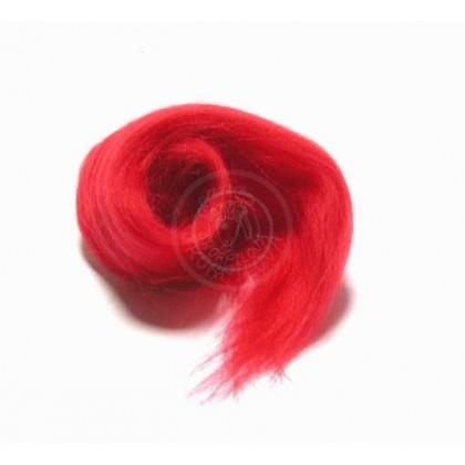 Merino vlna červená jasná
