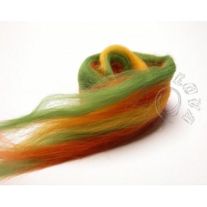 Merino melír - Palouček - zelenozelený  20g