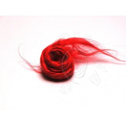 100% hedvábí česané  5g - červené