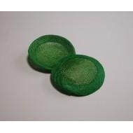 8 cm fascinátor zelená jarni