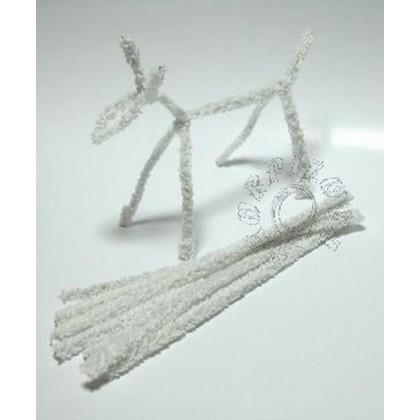 čističe dýmek  - chlupaté drátky 100 ks