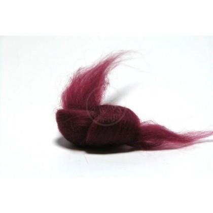 Merino ultra jemné 18 mic - červená  tmavá 18203