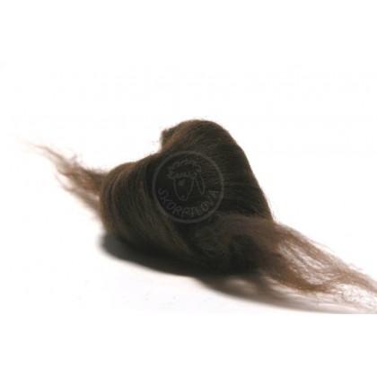 Merino ultra jemné 18 mic - hnědá tmavá