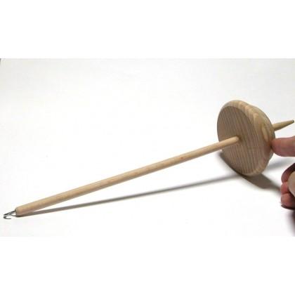 Dřevěné vřetánko na ruční předení