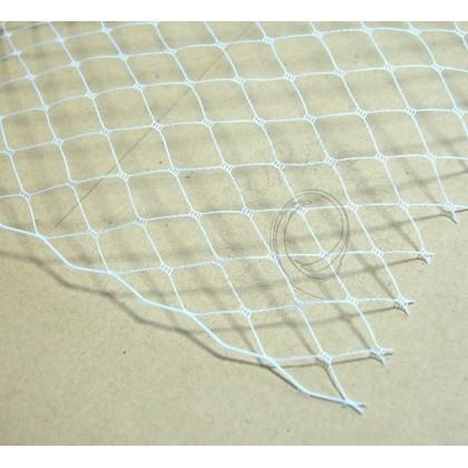 Francouzský závoj 50cm/š24cm - bílá jasná