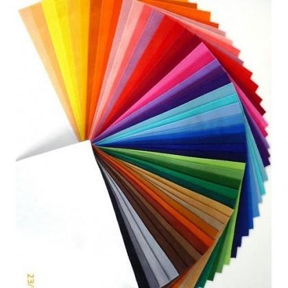 velká sada filc 50x  - 50 barev