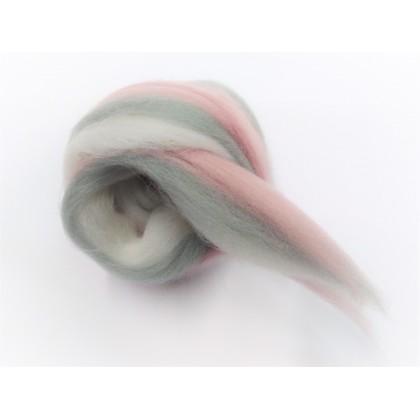 melír Růžovo šedý